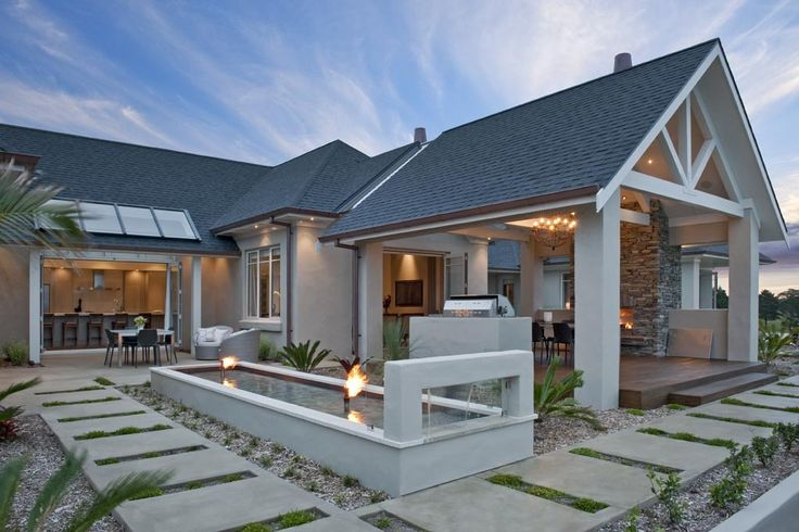House Design by House of Nautica #newzealand like outdoor area- sheltered from easterly