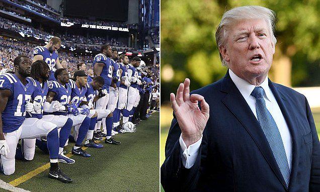 NFL Sunday Night Football ratings dip after Donald Trump's attack