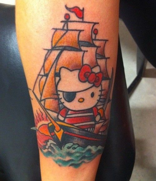 17 Best Images About Hello Kitty Tattoos ** On Pinterest