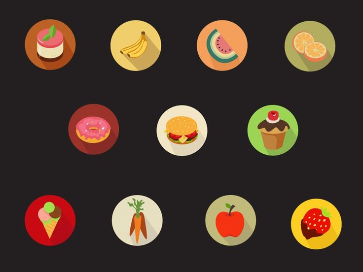 28+ New Flat vector Icons Sets For Designers | vector icons | Graphic Design Inspiration