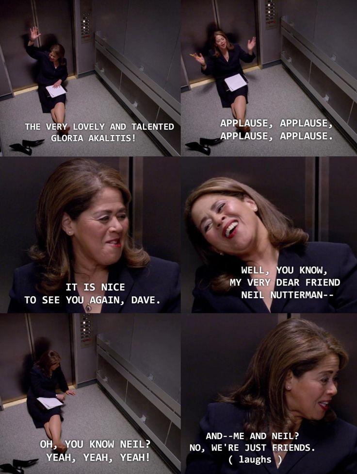 Gloria Akalitus being stuck in an elevator is still one of my favorite things to date that ever happened on Nurse Jackie.