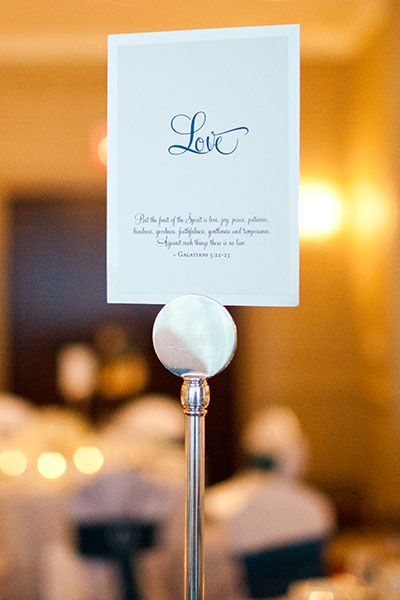 Sweet idea for your wedding table names