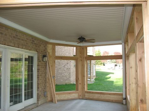 Under Deck Ceiling System | ... the Sealing Ceiling™ vinyl under-deck ceiling system: Enclosures
