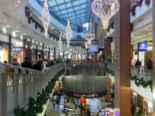 Grosse shopping mall