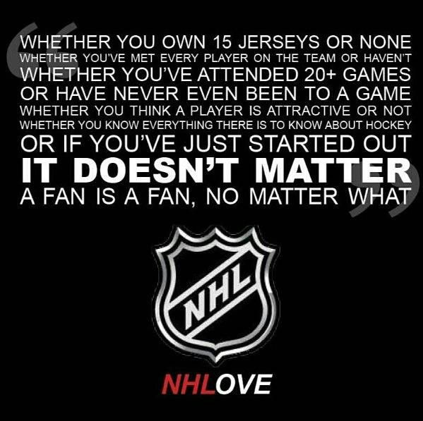 A fan is a fan, no matter what. Unless of course you are one of those people who follows a different team every year and switch when that team gets booted from the playoffs... Now you are still a fan BUT not a dedicated one