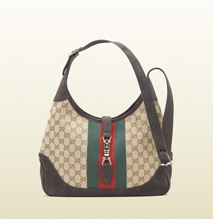 jackie original GG canvas shoulder bag  -- LOVEEEEEE IT!!!!!