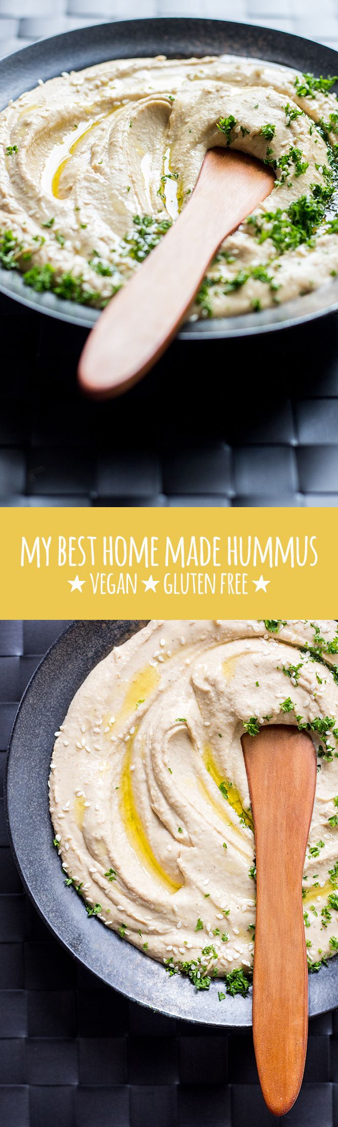 Perfectly smooth and creamy hummus, using a few secrets to make it the best home…