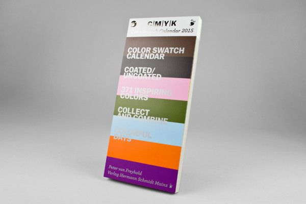 C|M|Y|K Color Swatch Calendar 2015