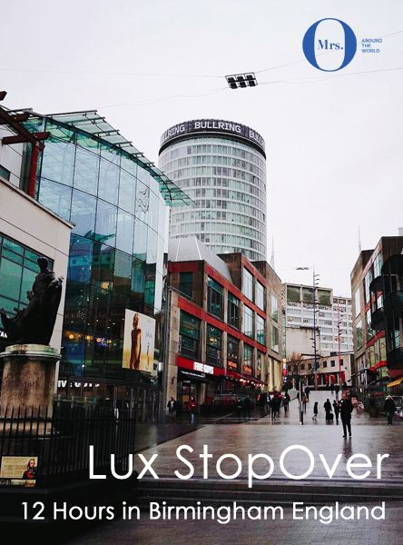 I had been to Birmingham once 12 years ago and was curious to see how the city had changed and how it welcomes luxury travellers, who are beginning or ending their UK trips in Birmingham, due to its international flights. Here is what one could do with 12 or so hours in Birmingham. #Birmingham #England #UK #Europe #luxurytravel #tourism #stopover #trip #getaway #ilovetravel #jetsetter #visit #fun #passportready #travelblogger #wanderlust