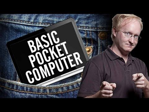 In a throwback to the 80s, Ben builds a Pocket BASIC computer, complete with keyboard and screen.