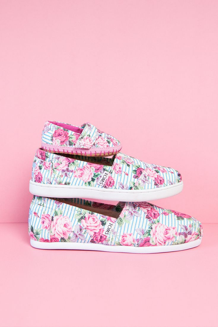 Shoes that give back for mommy and me! Check out the TOMS Mother's Day shop.