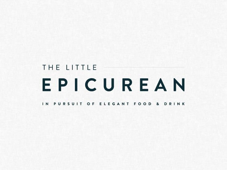 """<p>Logo for food blog, The Little Epicurean. Brand identity included four logo variations - masthead, badge, icon, and stacked version. Maryanne features fun foods - desserts and drinks, so we opted for a simple layout to let her content pop! </p> <p>Site Coming Soon: <a href=""""http://thelittleepicurean.com"""" rel=""""noreferrer"""">http://thelittleepicurean.com</a></p>"""