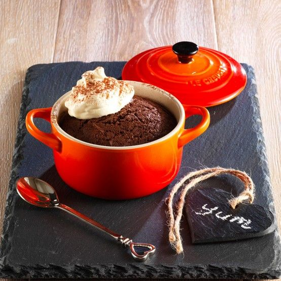 Volcano Chocolate Cakes - Le Creuset Recipes