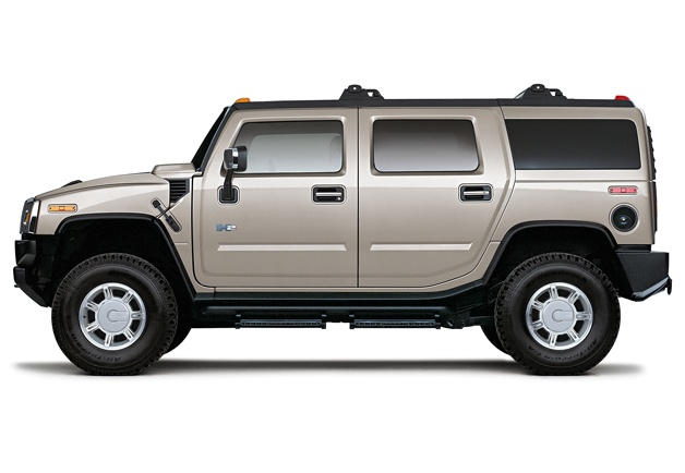 Hummer H-2... really considering this as my next vehicle. Or a prius and 50's pickup so I can still haul a trailer. Hmm... decisions. Lol