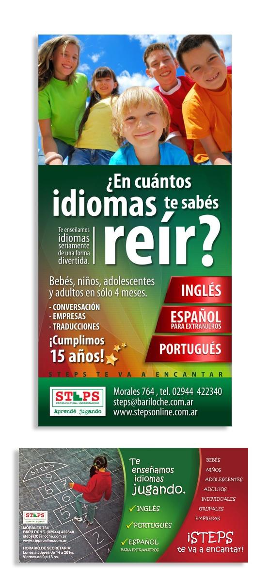 IORC - Poster Steps, Instituto de Idiomas