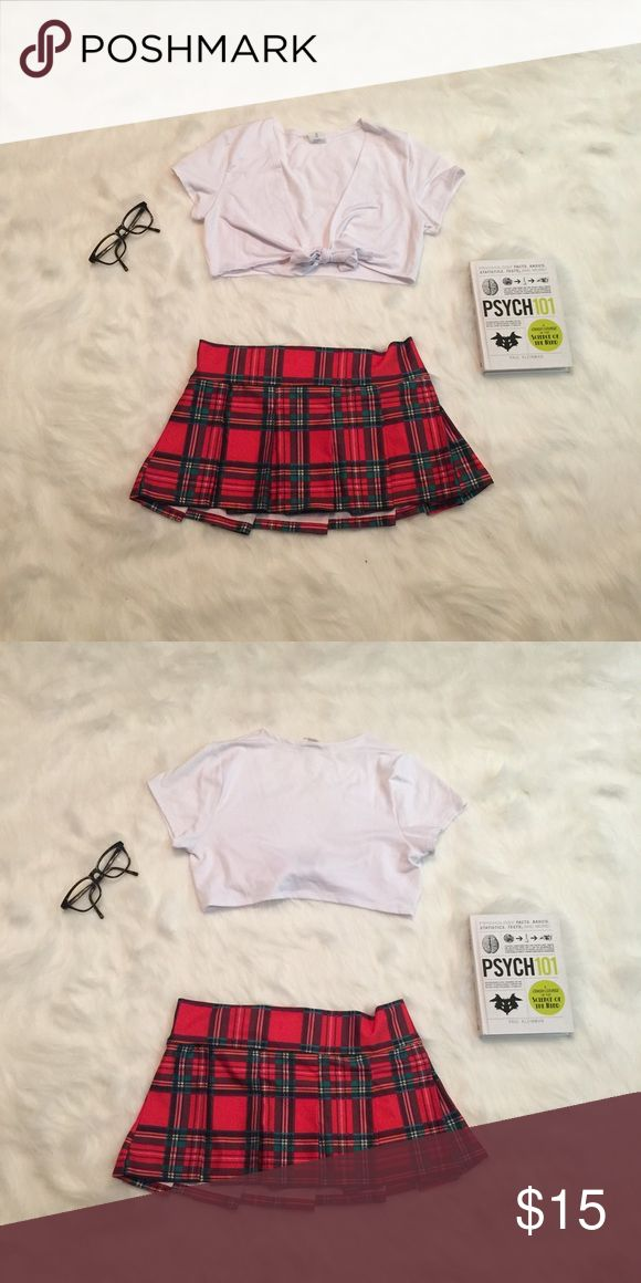 School Girl Costume Sexy  school girl uniform costume. Book and glasses not included Intimates & Sleepwear