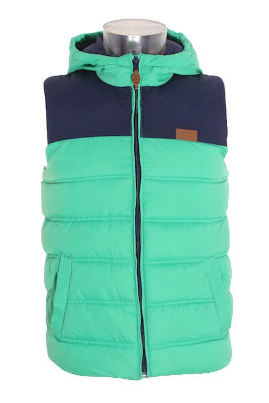 c786ccf1f Chaleco Abrigo Niño – Zara Boys en Color Verde y Azul Marino de Segunda  Mano Armario mariaayala