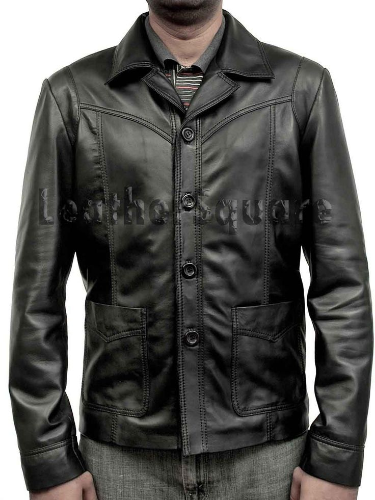 Killing me softly Movie Leather Jacket ALL SIZE AVAILABLE