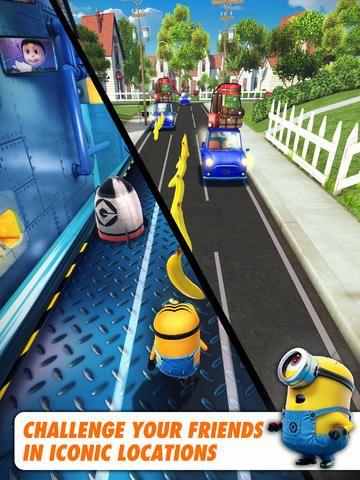 Despicable me app! A great game :)