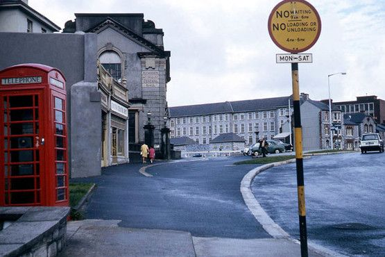 Looking towards, Plymouth Public Secondary School, c1960