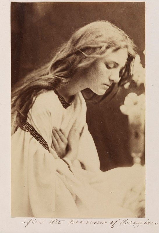 After the Manner of Perugino, 1865. Photography by Julia Margaret Cameron, Courtesy of National Media Museum, Bradford