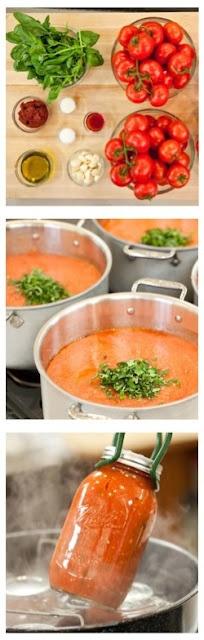 Homestead Survival: How to Make Big-Batch Summer Tomato Sauce Recipe
