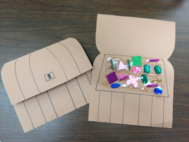 Pirate craft - treasure box