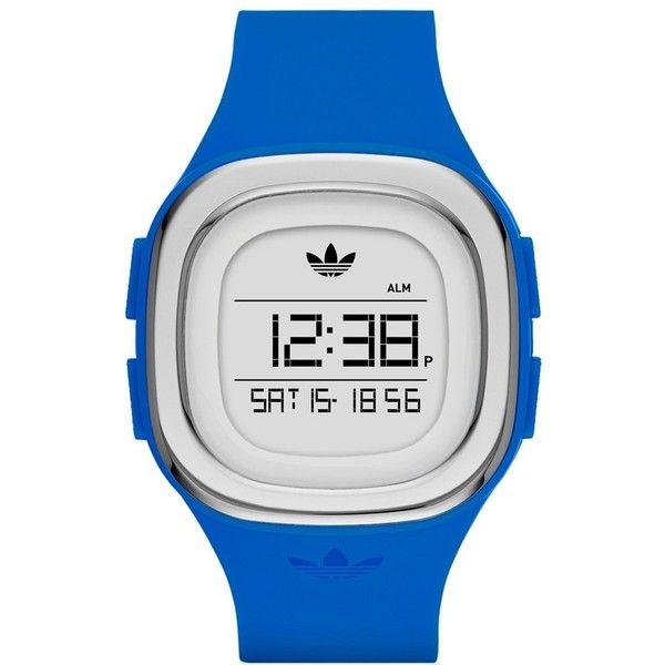 Adidas Originals  Denver  Digital Silicone Strap Watch 7a2cd6192a7