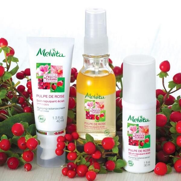 One of my fave skincare lines! Clean! ~UH Pulpe De Rose from Melvita France