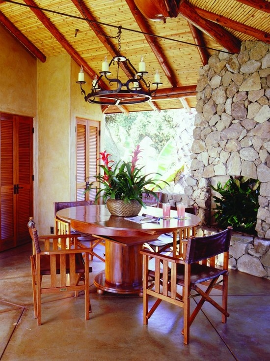 Dining Room Tropical Design, Pictures, Remodel, Decor And Ideas   Page 2