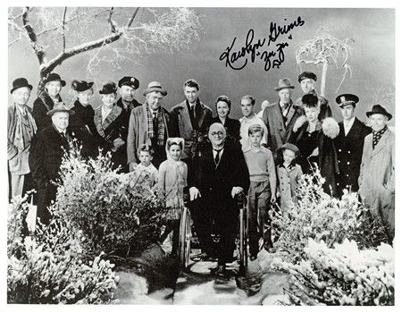 """Cast of """"It's a Wonderful Life"""" - No words can describe this beautiful and epic picture. Well, I guess I just used some words...LOL."""