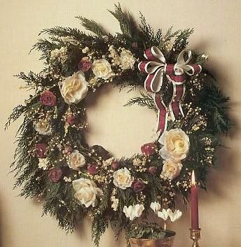18 best homemade christmas wreaths images on Pinterest ...