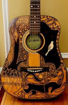 Best Custom Stickers And Print Images On Pinterest Custom - Guitar custom vinyl stickers