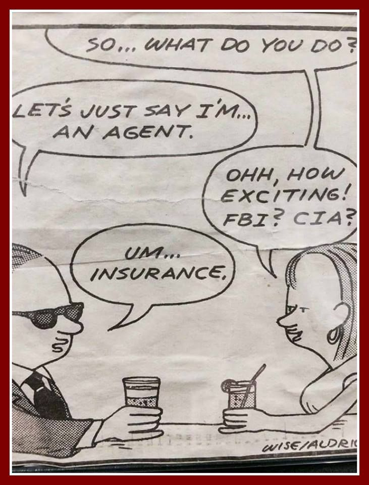 Just an insurance agent? Before asking a question like how much is homeowners in... 1