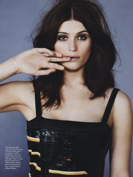Gemma Arterton For Vogue