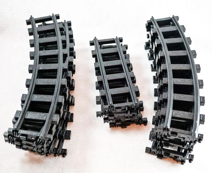 Lionel Polar Express Train G Scale Black Tracks 16 Total 12 curve and 4 Straight #Lionel