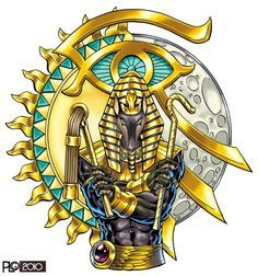 Anubis Tattoo design by mattPLOG