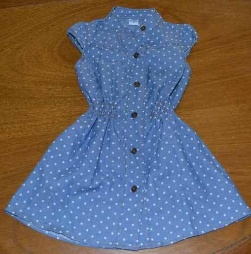vestido finito guimel lunares 2-8 años little treasure
