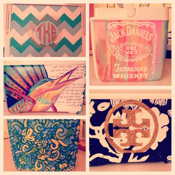 Total Sorority Move | 2014 Cooler | Love the Jack Daniels side!