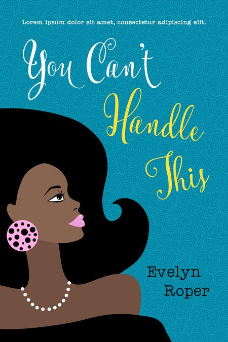 Illustrated Premade Book Covers : You can t handle this premade book covers and