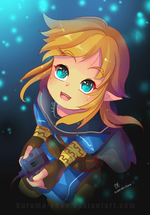 -- Zelda : Welcome Nintendo Switch ! -- by Kurama-chan on DeviantArt