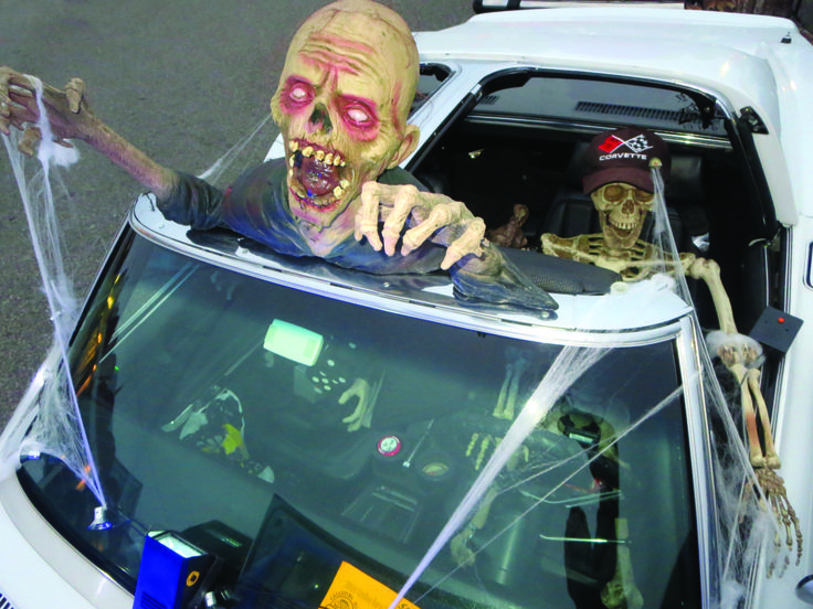 this halloween give your car an epic scary look