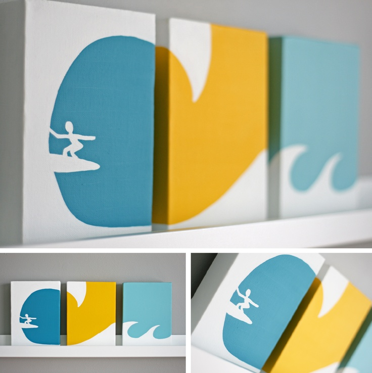 great idea for the small canvases I