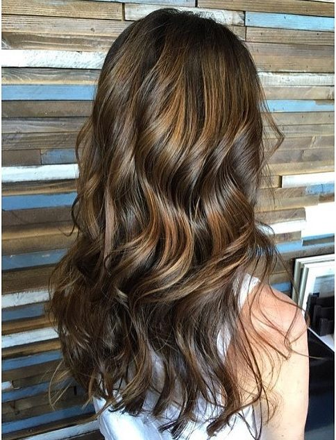hair trends - brunette highlights balayage