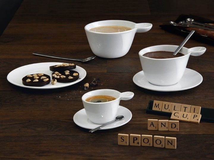 multicup spoon cappucinotasse untertasse 3er set essgeschirr asa selection traumhaftes. Black Bedroom Furniture Sets. Home Design Ideas