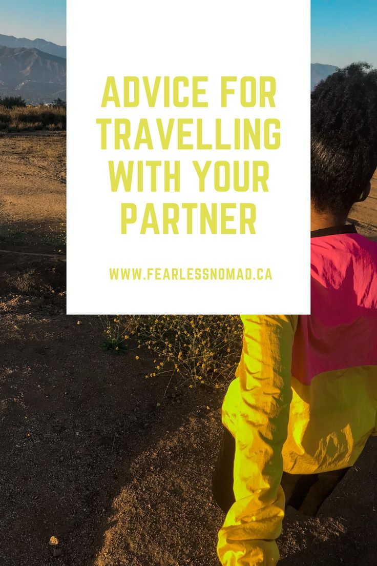Important advice for travelling with your partner trip