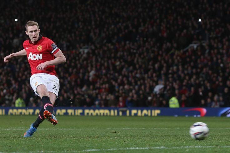 ...but Darren Fletcher scored his