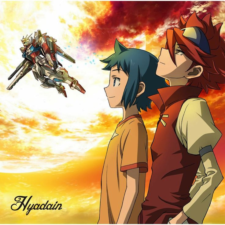 Gundam Build Fighters ED2 Single – HANPAN Spirit  ▼ Download: http://singlesanime.net/single/gundam-build-fighters-ed2-single-hanpan-spirit.html