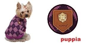Jersey ARGYLE MODE de la firma Puppia para #perro. Disponible en Morado, Beige y Rosa. Perfecto para los dias más frios del año. http://bit.ly/1LIupgf