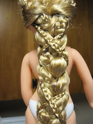 Disney Princess and Me Rapunzel Braid Tutorial